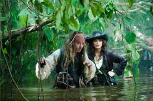 Jack Sparrow and a woman from his past