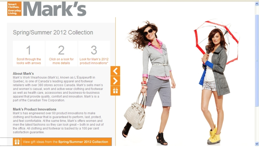 Marks Look Book Spring Summer 2012