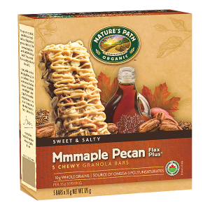 mmmaple pecan granola bars