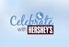 Celebrate with Hershey's Easter logo