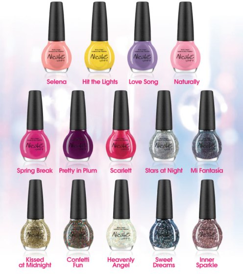 Nicole by OPI Selena collection