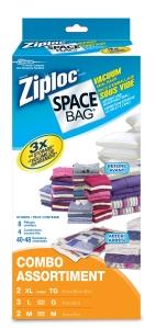 Ziploc Space Bags Combo 2XL 3L 2M 300