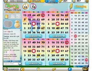 Bingo Blitz Playing Bingo