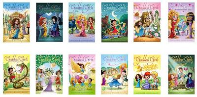 Goddess girls books