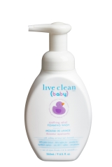 Live Clean Baby Foaming Wash