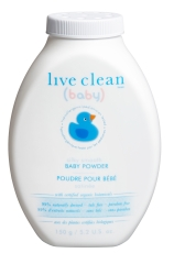 Live Clean Baby Powder