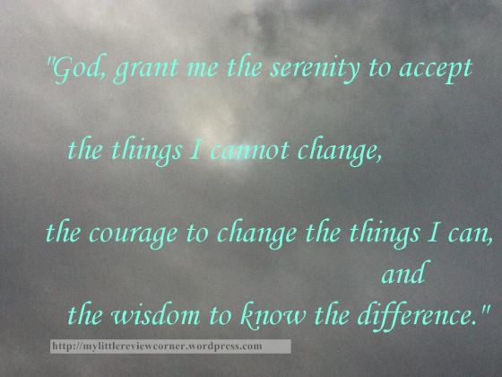 serenity prayer photo quote