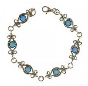 opal bracelet sky blue