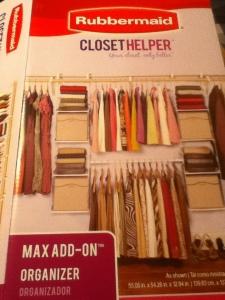 Rubbermaid Closet Helper