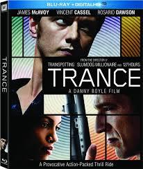 Trance dvd cover, danny boyle