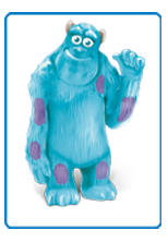 (And don't tell Mike but Sulley is my favourite -- shhhh - that's our little secret!)