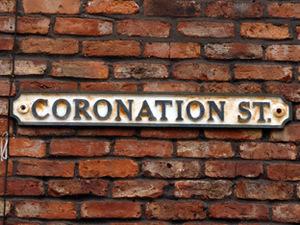 Coronation Street logo, Corrie
