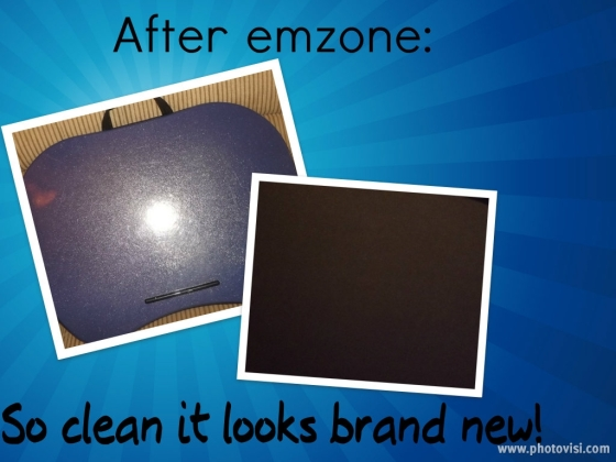emzone after lapdesk