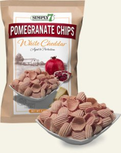 Pomegranate Chips White Cheddar