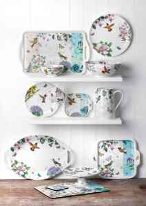 Portmeirion Botanic Hummingbird Collection
