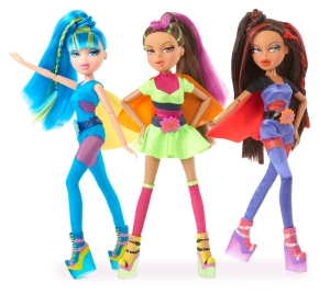bratz, girls, superhero, imagination