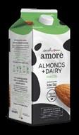amore almonds + dairy vanilla