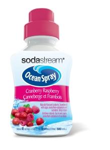 CANADA Ocean Spray Cranberry Raspberry syrup 500ml 3D
